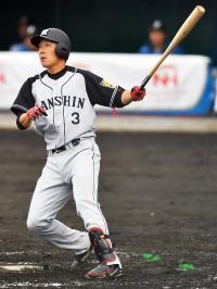 阪神ドラ1大山、初安打初打点「結果出てよかった」 - 野球 : 日刊スポーツ
