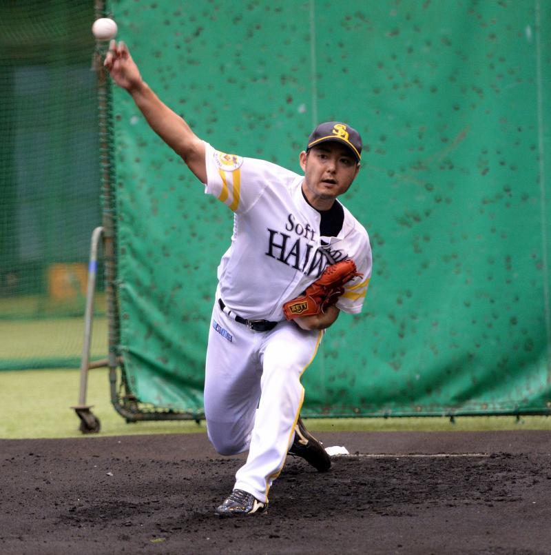 ソフトバンク摂津、志願の打撃投手