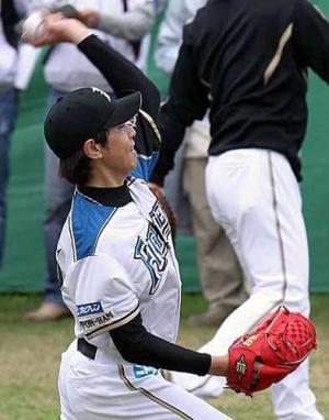 ハム武田勝、初の開幕投手へ仕上がり順調