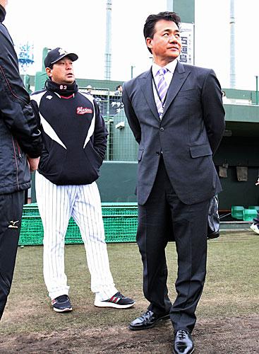 ロッテ伊東監督「いいね!」チェン投手