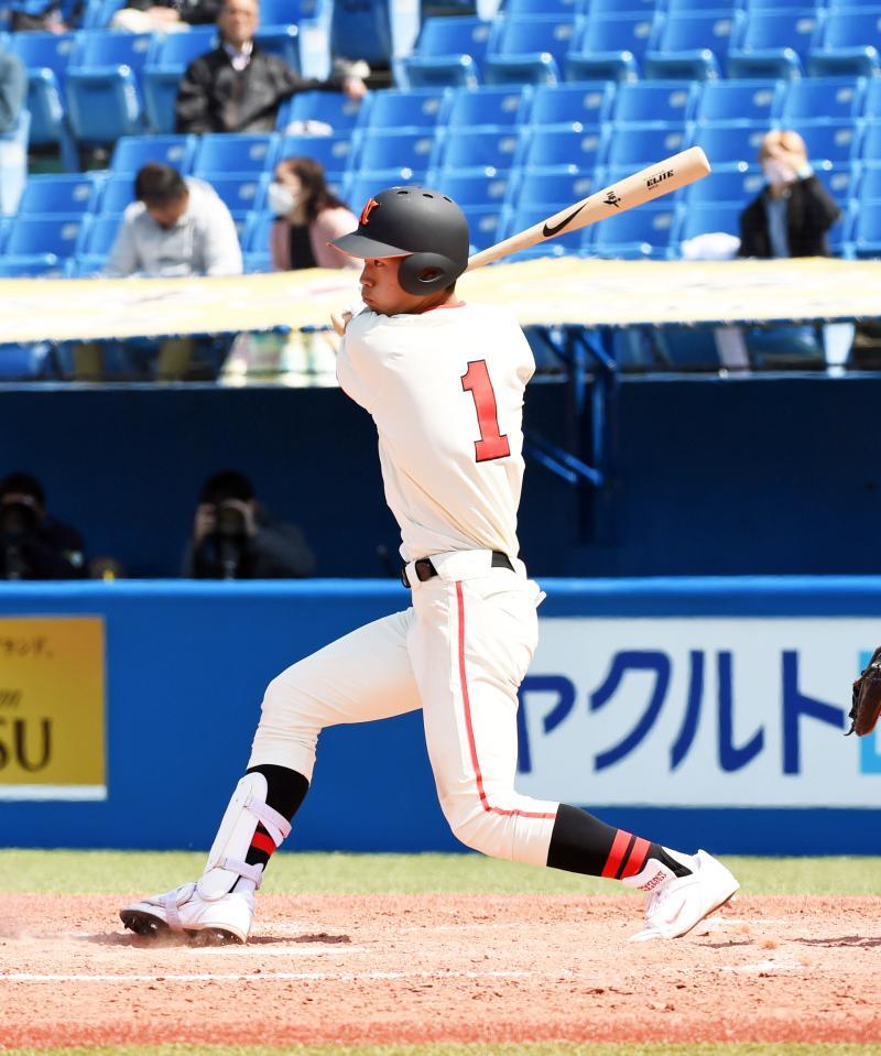 nikkansport.com @ mobile日大が今季初白星、ドラフト候補の京田2点二塁打