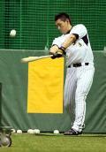 阪神が移動日に異例の野手指名練習