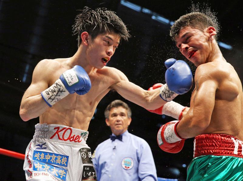 田中恒成が判定勝利 5戦目で日本最速の世界王者
