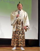 還暦を祝う会で徳川家康のコスプレで登場し招待客の度肝を抜いた藤波辰爾