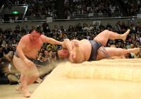荒鷲が左足首負傷「歩くと痛い」稀勢の里戦で - 大相撲 : 日刊スポーツ