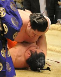 照ノ富士、苦手の遠藤下し1敗守る「危なかった」 - 大相撲 : 日刊スポーツ