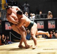石浦金星、同部屋の横綱白鵬を寄り切り「いい経験」 - 大相撲 : 日刊スポーツ