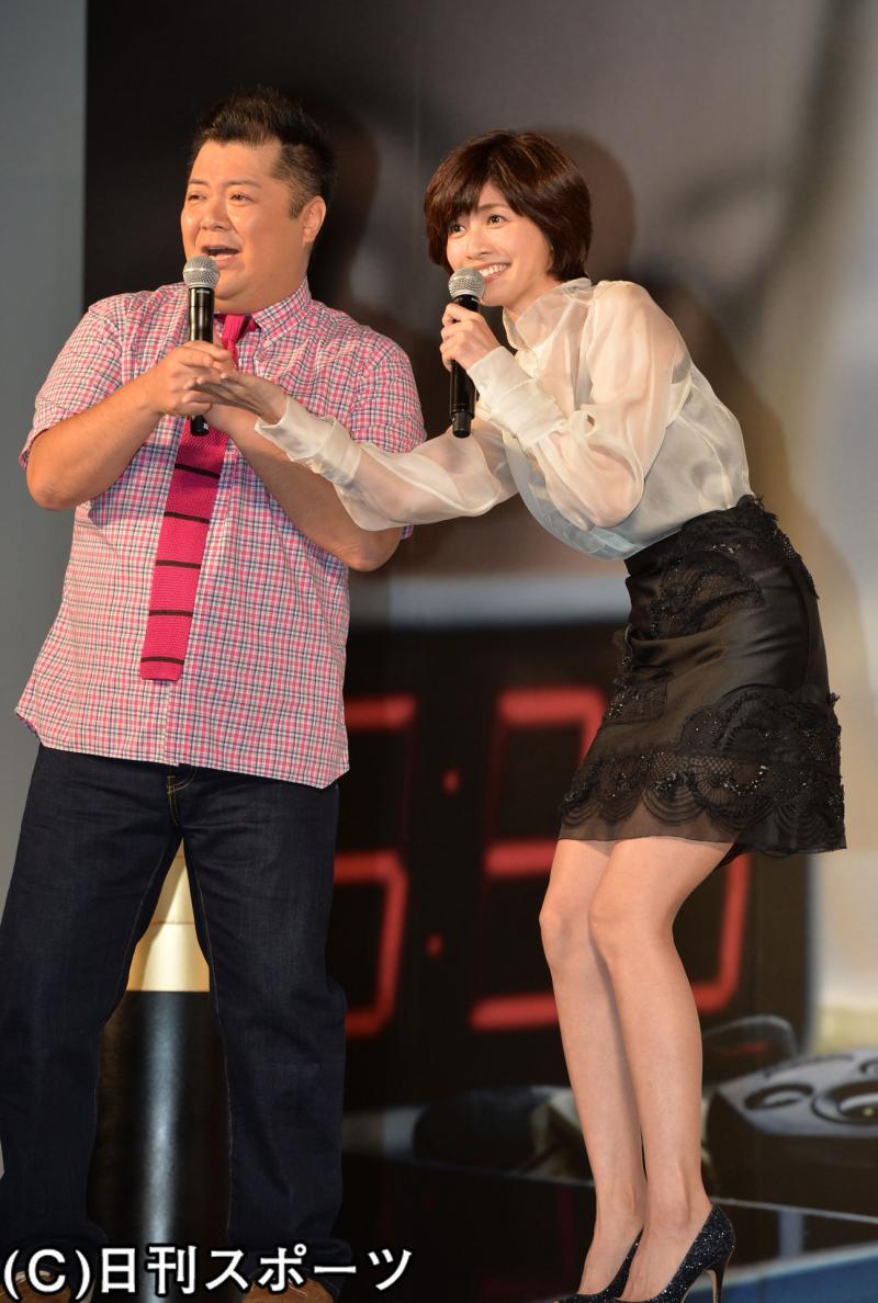 内田有紀と小杉竜一が夫婦漫才のような掛け合い