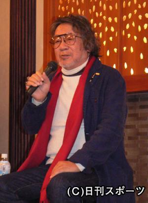 ブルーレイ拡大会議に出席した大林宣彦監督 ブルーレイ拡大会議に出席した大林宣彦監督 映画監督の大