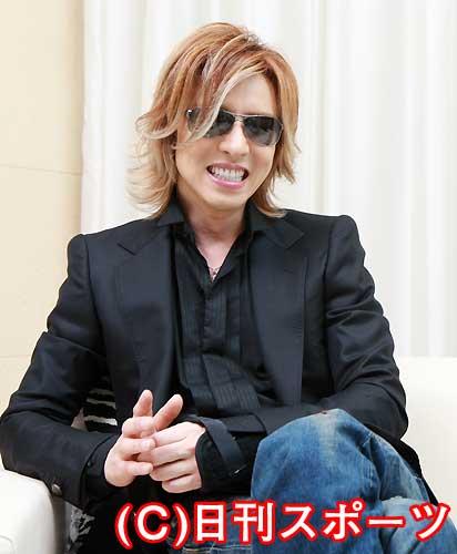 YOSHIKI自らに課す飛び込み禁止令 - 芸能ニュース