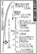 兵庫・淡路島で早朝に大ギス29センチ