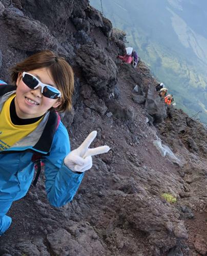 昨年9月、富士登山にチャレンジ!