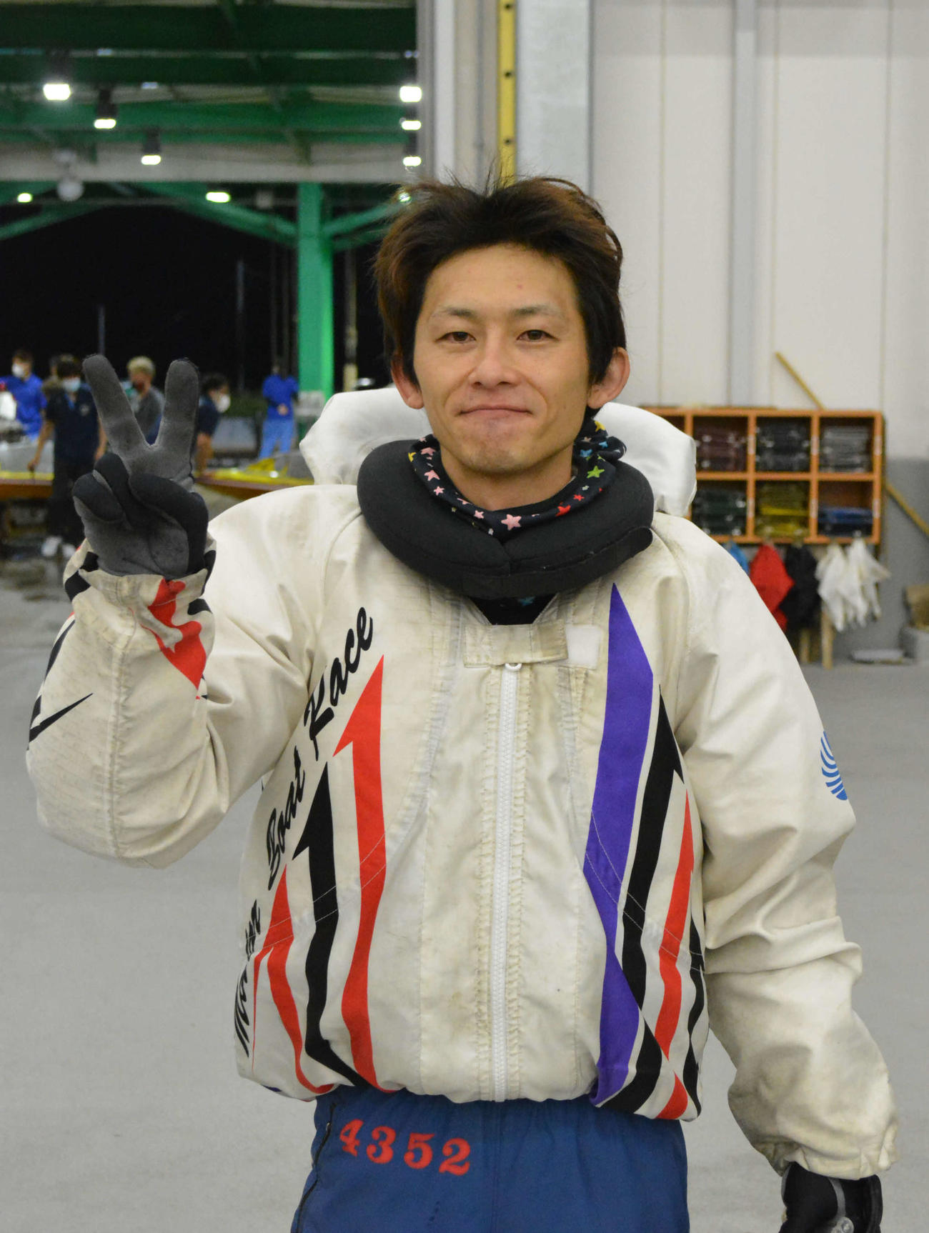 下條雄太郎はイン逃走劇で今年4回目の優勝を飾った