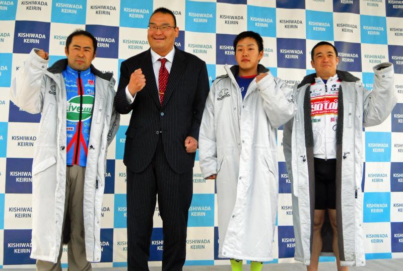 F1 石田雄彦記念杯振分親方「誕生日車券」1点で3連単的中/岸和田