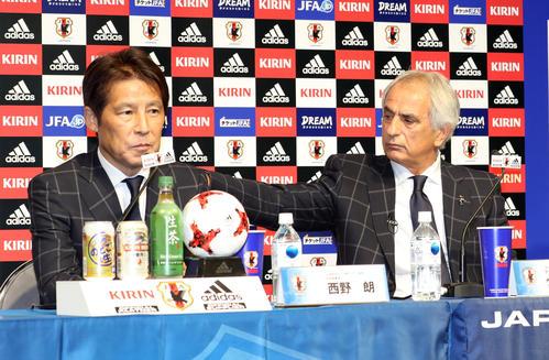 17年8月、W杯アジア最終予選のメンバー発表で話... 解任決断遅すぎ、西野氏以下は総辞職/セル
