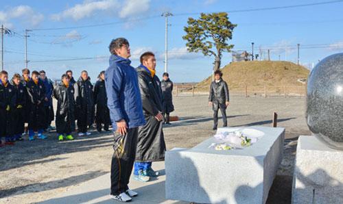 仙台渡辺監督決意 津波被害閖上から始動
