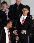 マンU帰国、Cロナウド「サイン多過ぎ」 - トヨタ クラブW杯2008