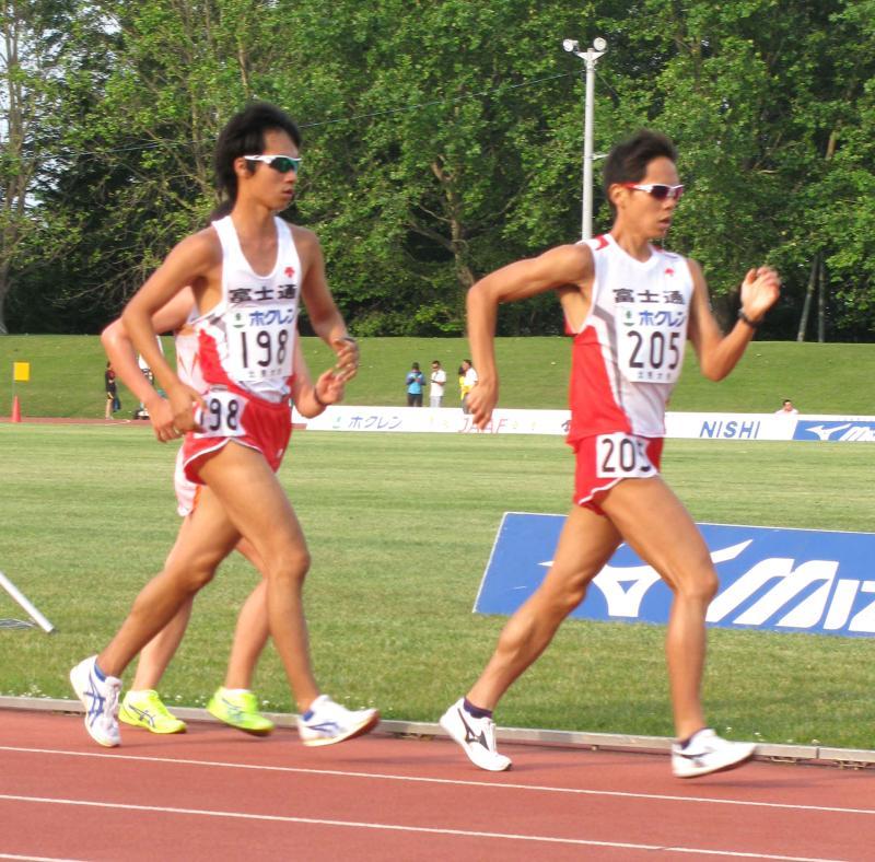 鈴木、5000m競歩で日本新!