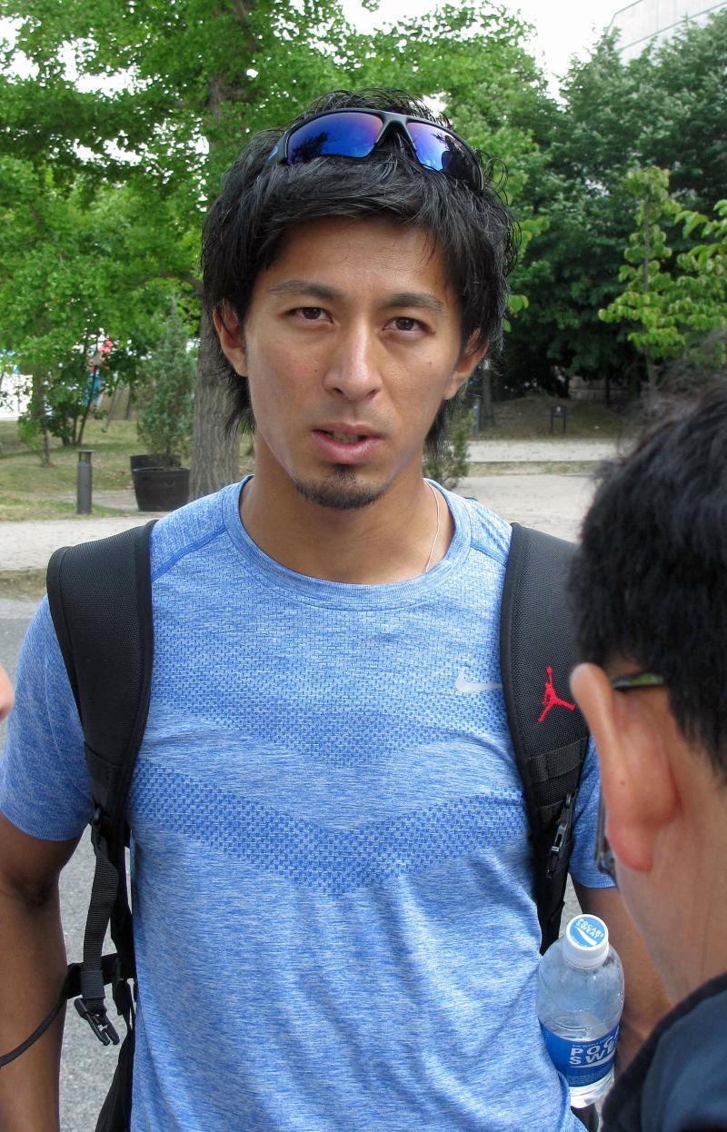 200m出場イケメン藤光謙司「あとはやるだけ」 - 陸上 : 日刊スポーツ