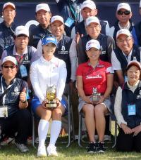 勝みなみ20位でベストアマ「落ち着いてできてる」 - 国内女子 : 日刊スポーツ