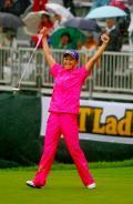 古閑大雨も粘って今季2勝目/女子ゴルフ