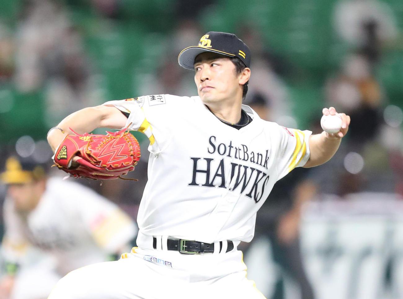 和田毅(2021年4月14日撮影)