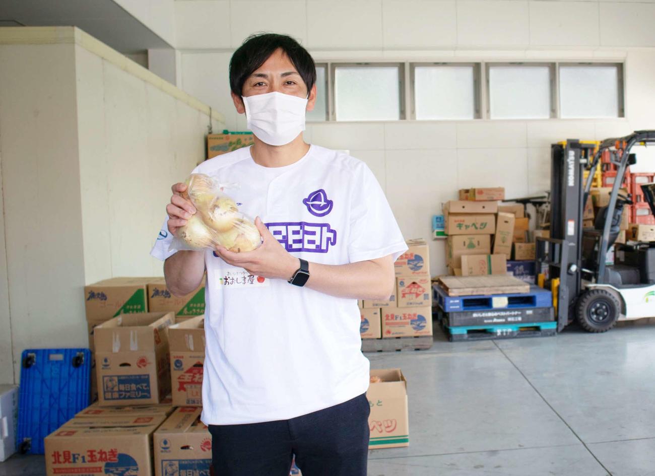 熊本の農業を盛り上げようと動く元ロッテ投手の香月良仁氏