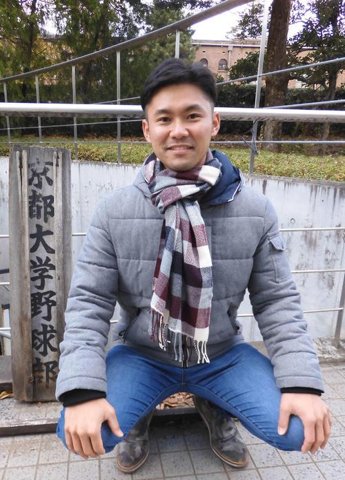 京大で投手コーチを務める元ソフトバンクの近田怜王氏