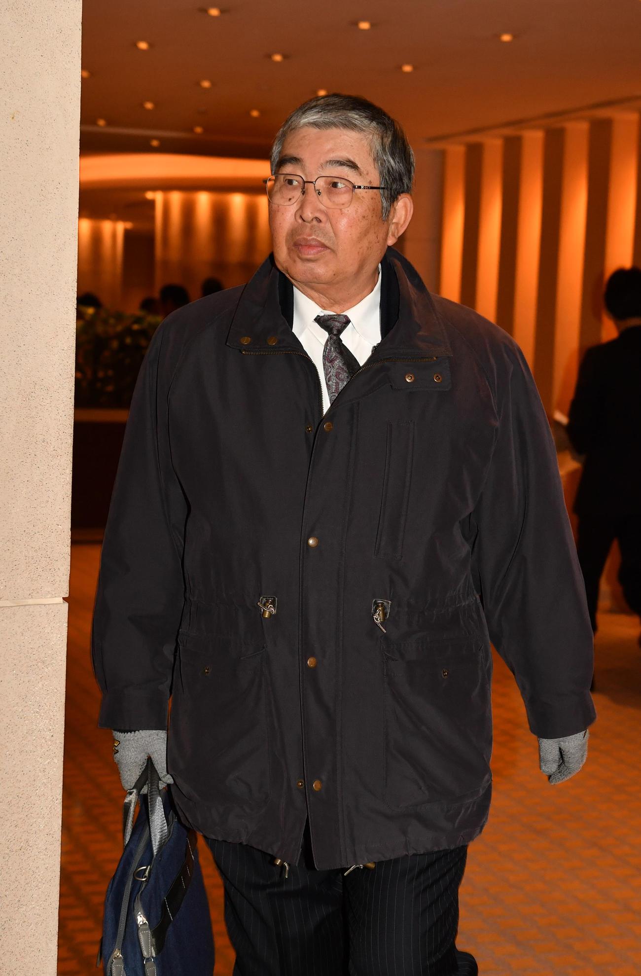 小谷正勝氏(2019年1月18日撮影)