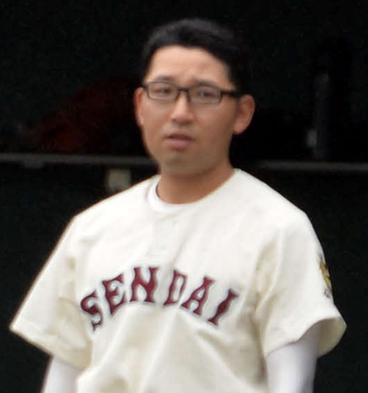 仙台二・金森信之介監督(19年7月撮影)