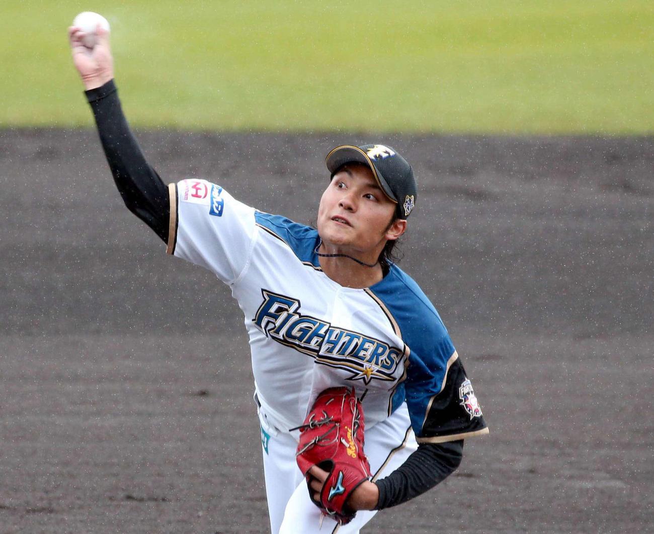 日本ハム伊藤大海(2021年2月13日)