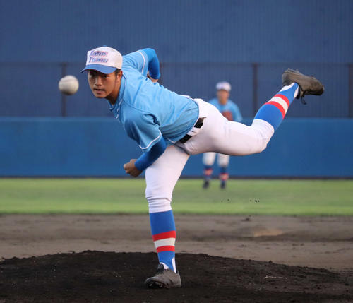左腕・和田は花咲徳栄の埼玉夏5連覇のカギを握る1人(撮影・金子真仁)