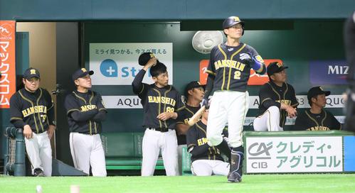 阪神交流戦折り返し5割 気になる「外野手の控え」 - 虎だ虎だ虎になれ ...