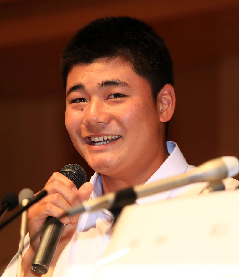 nikkansport.com @ mobile清宮プロ入り表明「プロの世界の厳しさは十分理解」