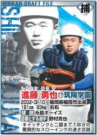 筑陽学園・進藤は扇の要 捕手基礎は甲斐&ノムさん - 高校野球 : 日刊スポーツ