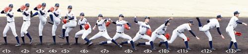 3月、作新学院との練習試合(撮影・浅見桂子)