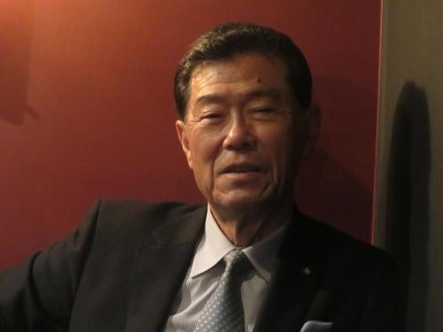 約半世紀の指導者人生について語る横浜(神奈川)元監督の渡辺元智氏