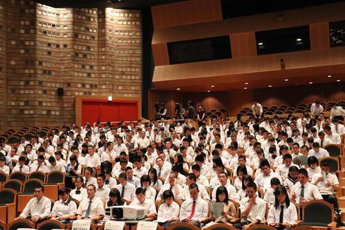 高校野球神奈川大会の組み合わせ抽選会が181校参加で行われる(撮影・金子真仁)