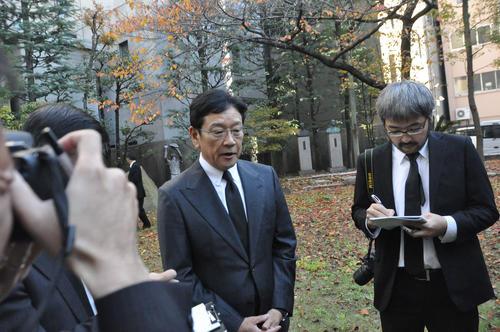 日本ハム栗山監督は竹中雅彦日本高野連前事務局長への思いを話す