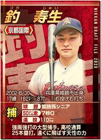 強肩強打の京都国際・釣寿生、二塁送球タイム1秒9 - 高校野球 : 日刊スポーツ