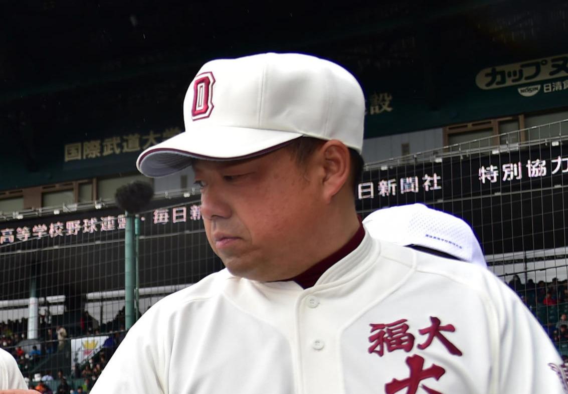 福岡大大濠・八木啓伸監督(2017年3月26日)