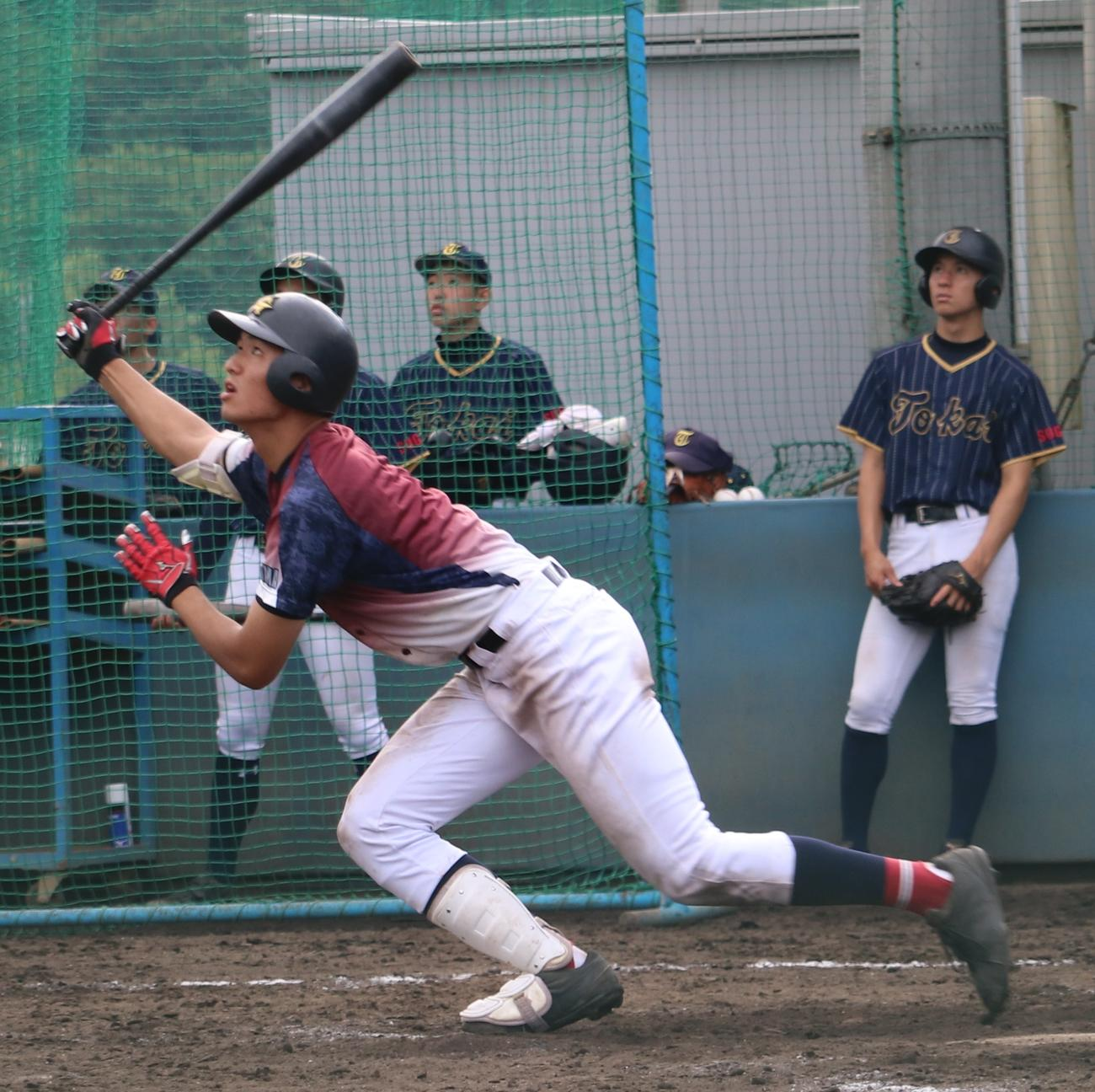 聖望学園・蔵田亮太郎(20年6月20日撮影)