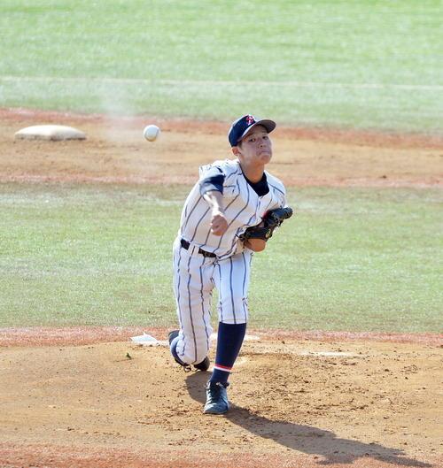 柴田大学法石川選抜した柴田・谷木(撮影・佐藤研究)