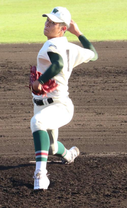 市和歌山-東播磨 市和歌山の先発の小園健太投手
