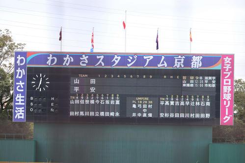 山田-龍谷大平安のスタメン