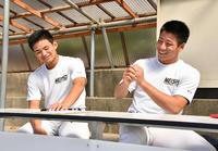 明石商・中森&来田「不安の方が大きい」一問一答 - 高校野球 : 日刊スポーツ