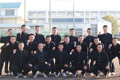 21世紀枠の近畿地区代表に選ばれた東播磨ナイン