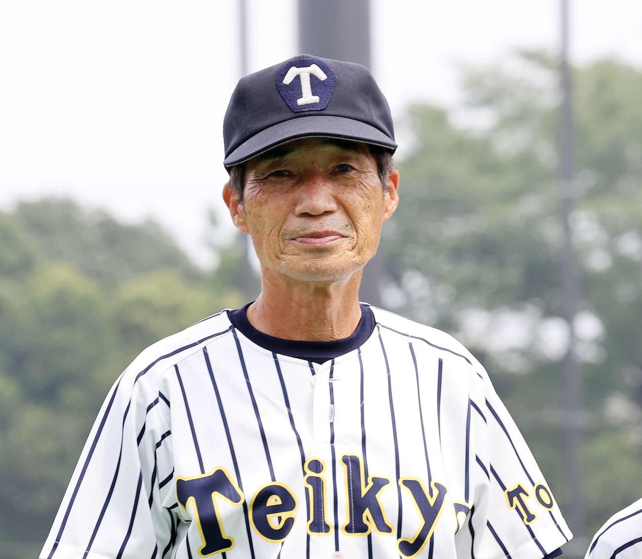 帝京・前田三夫監督(2020年8月8日撮影)