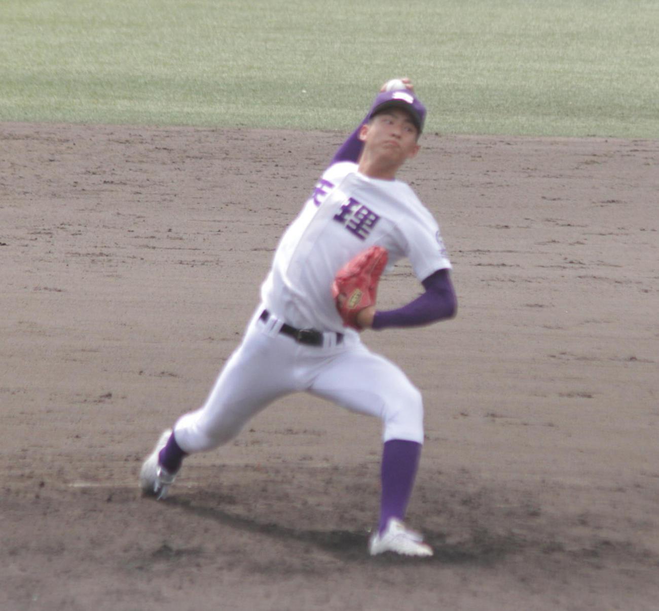 天理はエース達孝太投手がセンバツ後、初の対外試合を1回無失点だった