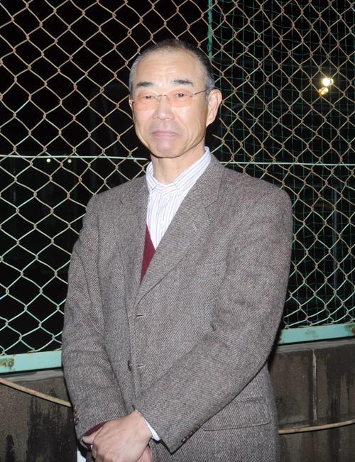 三島南OB会長の諏訪部孝志さん(2021年1月30日撮影)